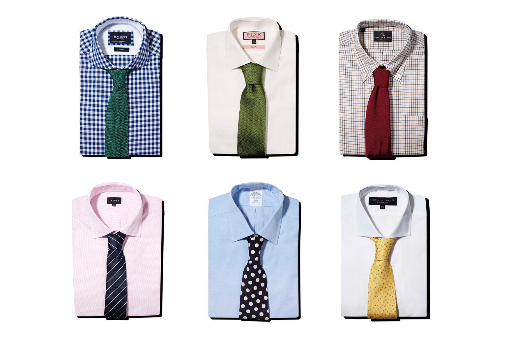How To Colour Match Men 39 S Shirts And Ties Gq Style Tips