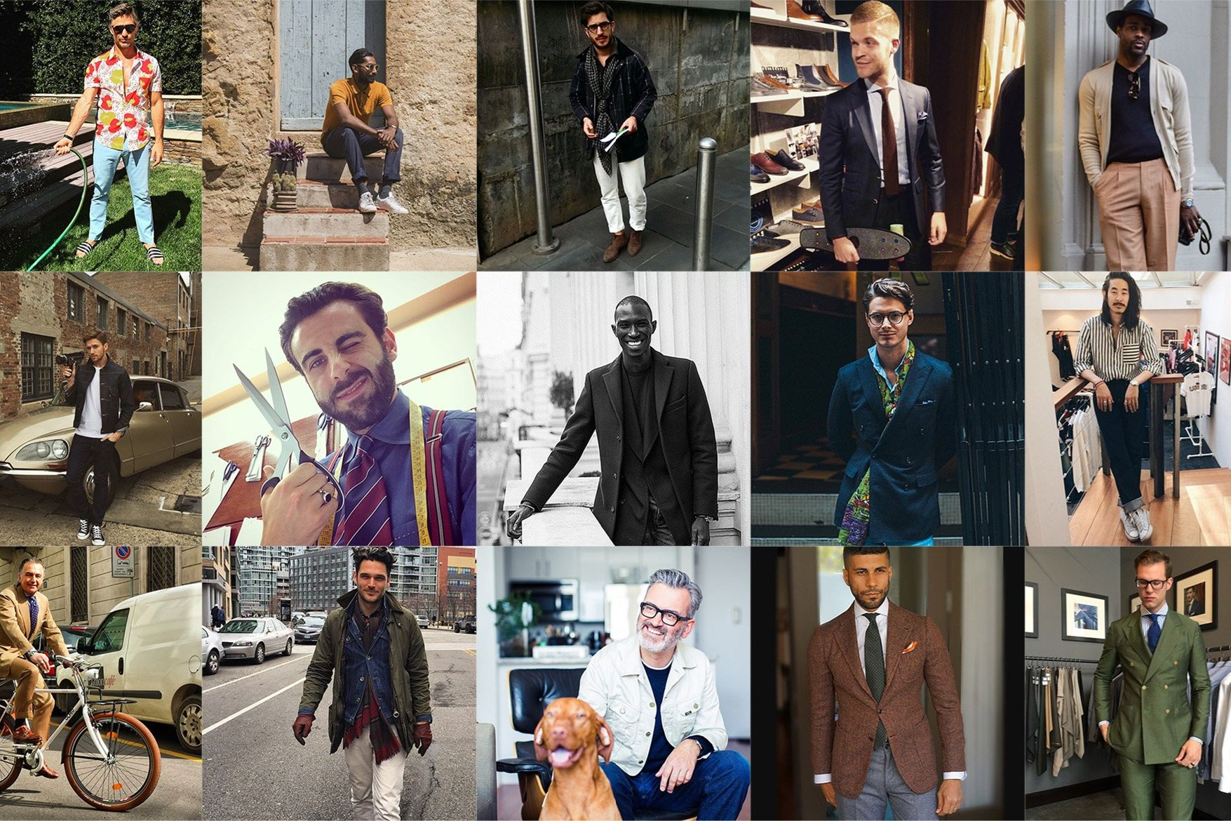 The 53 Most Stylish Men You Don 39 T Yet Follow On Instagram Best Menswear Instagram Accounts