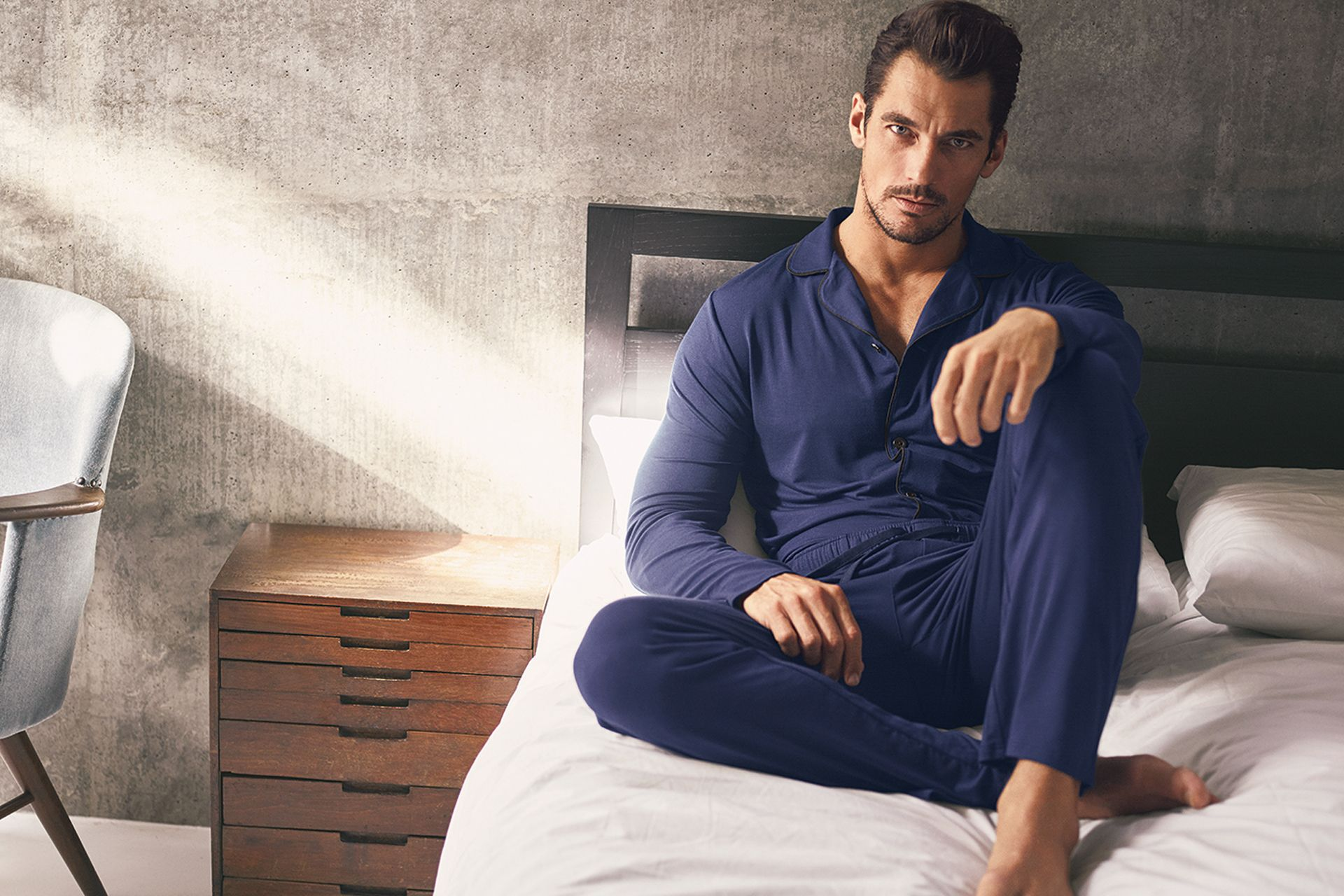 David Gandy returns with his latest Autograph loungewear ...
