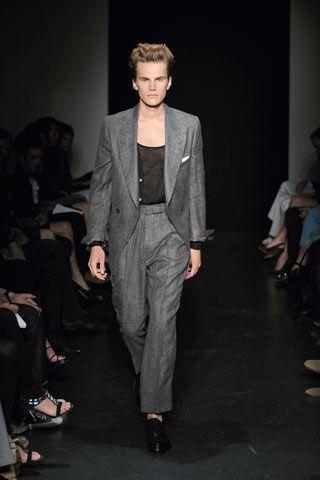 yves saint laurent cabas chyc tote medium - Yves Saint Laurent menswear fashion shows and news | British GQ