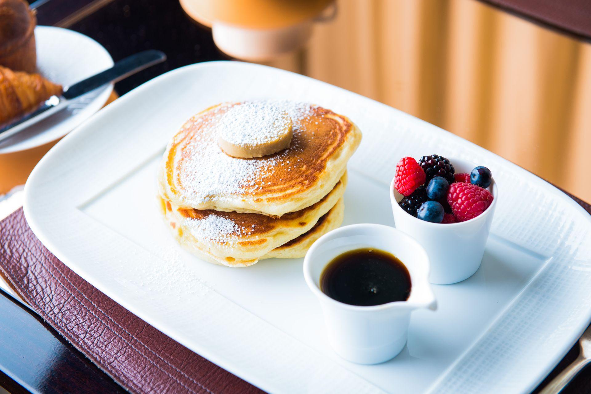 Award winning chef wolfgang puck reveals his recipe for for Award winning pancake recipe