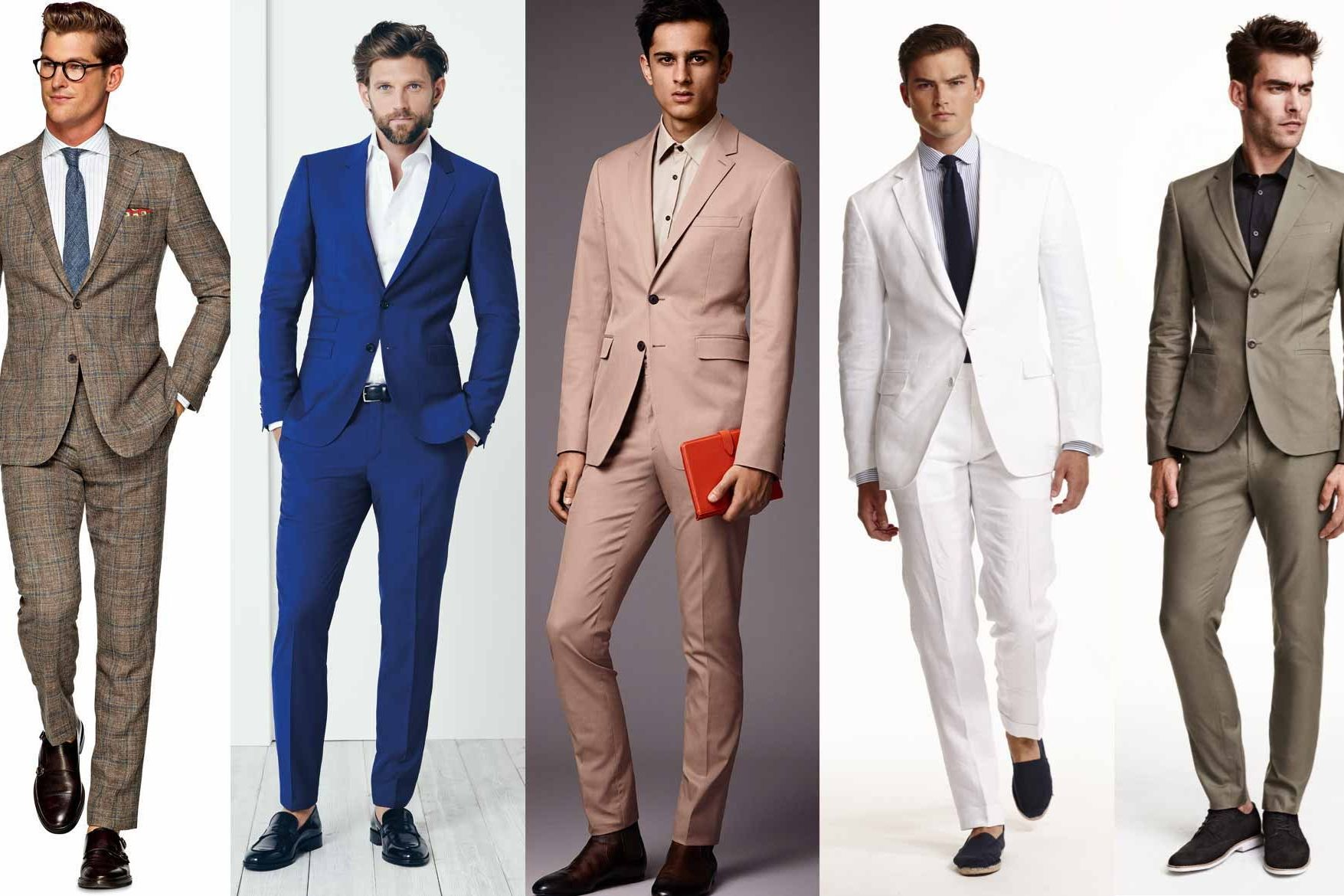 We chatted with a suit expert on what men need to look for when purchasing a summer suit—including the construction, fabric, and colors. See the top tips, plus shop our favorites.