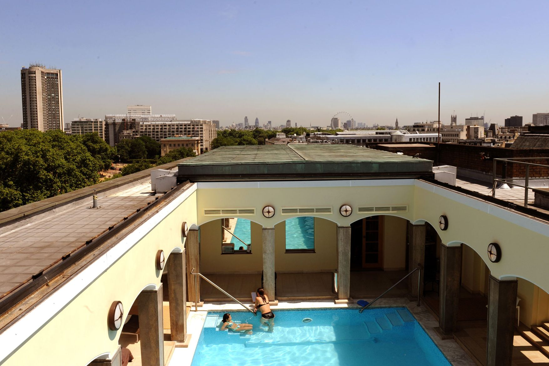 The Five Best Hotels In London With Swimming Pools Indoor And Outdoor British Gq