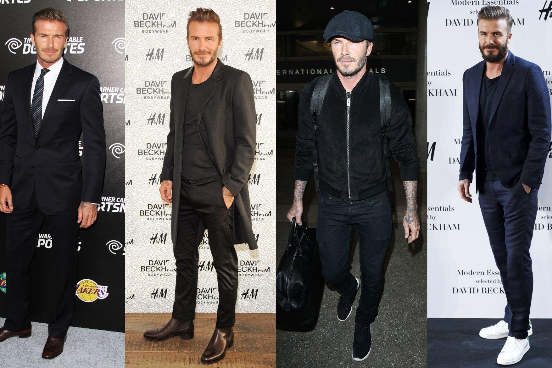 David Beckham All His Best Outfits British Gq