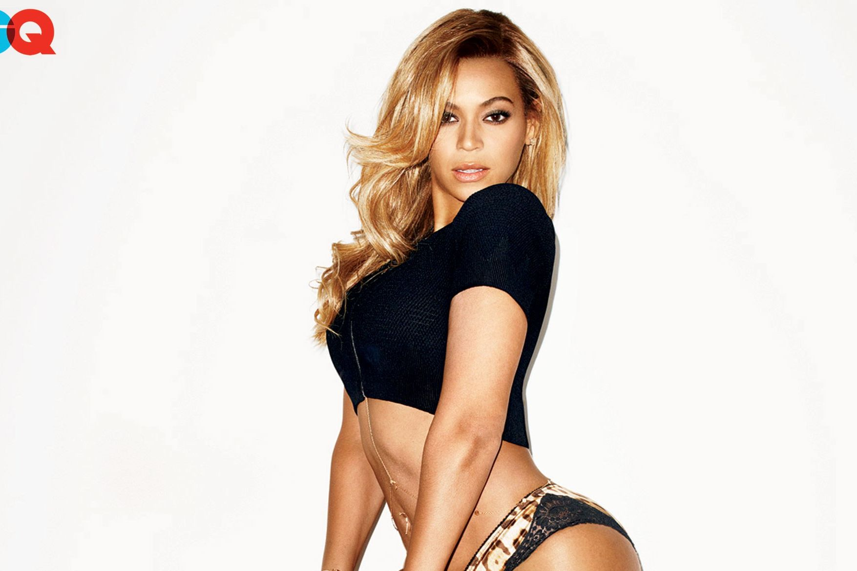 Beyonce gq cover those on!