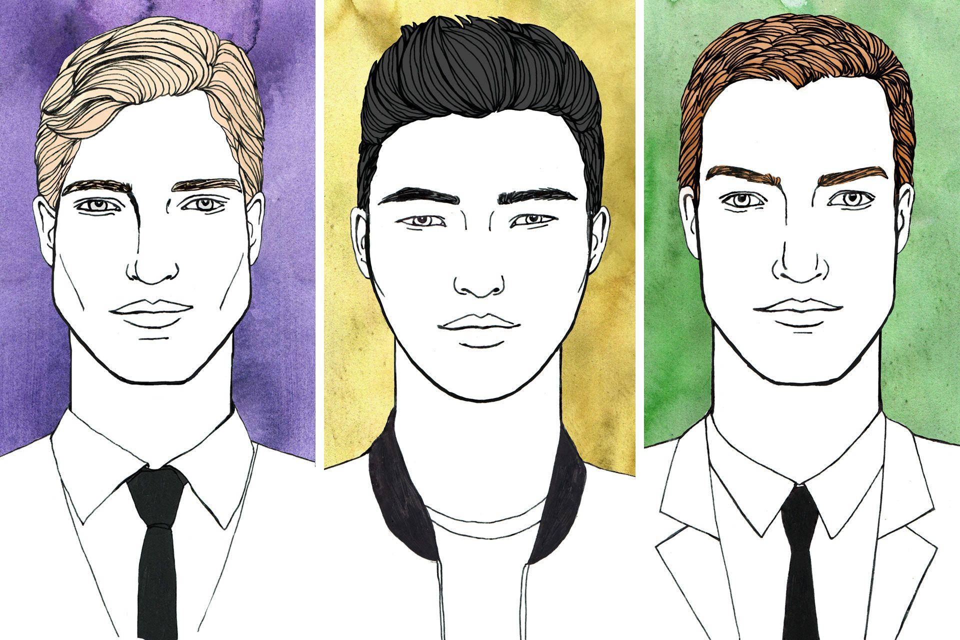 Sensational Men39S Hairstyles For Different Face Shapes British Gq Short Hairstyles Gunalazisus