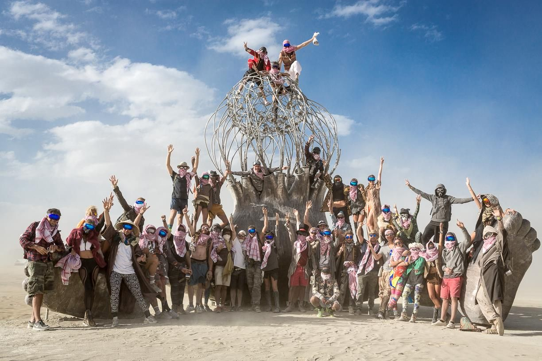 Burning Man 2016 White Ocean Camp Hooligans Are Against